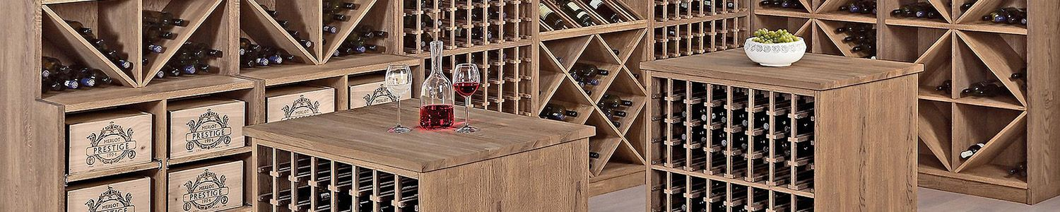 Weinregale Holz