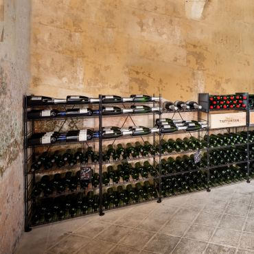 Weinregalsystem  LE CAVE aus Metall